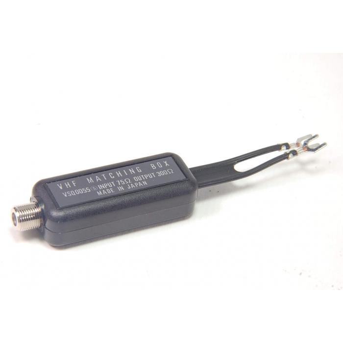 Unidentified MFG - VSQ0055 -  VFH Matching Box, Coaxial Transformer, Input 75 Ohm to 300 Ohm Output.