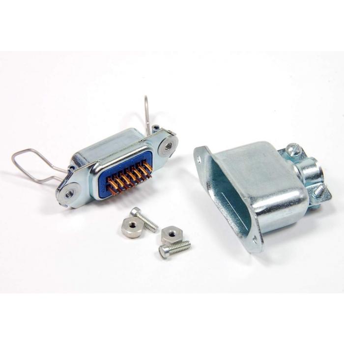 CINCH JONES - KS16786L9 - Connector, microribbon. 14 Position (F).