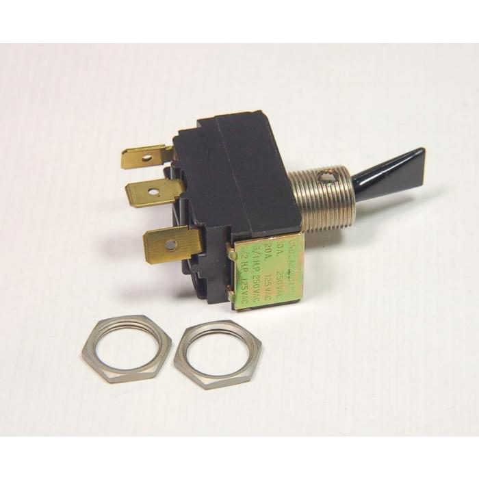 JBT - PFH-4223P - Switch, toggle. SPDT 20Amp 125VAC.