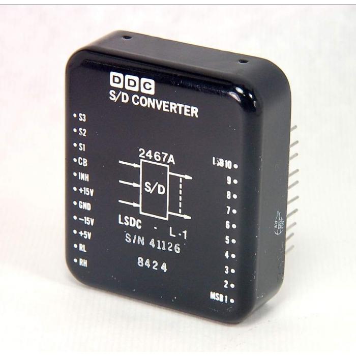 DDC - 2467A - Synchro shaft angle data converter