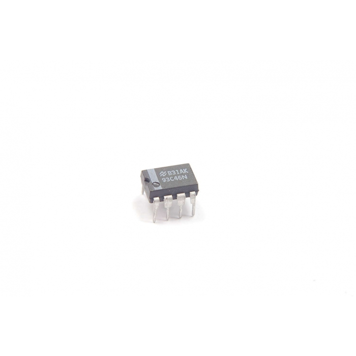 MAJOR - 93C46 Dip - IC, memory. EEPROM 256Bit/1K 5V.