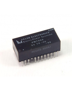 Valor - PM7002 - DC/DC 5V TO -9V 200MA REGULATED