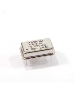 TOYOCOM - TCO-715A 18.080 MHZ - 18.080Mhz New crystal oscillators.