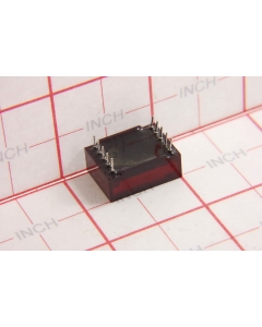 "Texas Instruments - TIL322P - Opto display. Seven segment 0.5""."