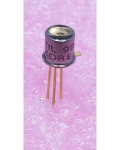 Texas Instruments - TIL99 - Transistor, NPN IR Phototransistor Detector, Foto Transistor, Pyrometric Sensor.