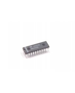 National Semiconductor Corp - MM5456N - IC, timer. Digital alarm clock. Monolithic MOS integrated circuit.