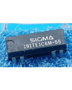 SIGMA - 191TE1C6M-5S - Relay, reed. Input: DC. Contacts: SPDT.