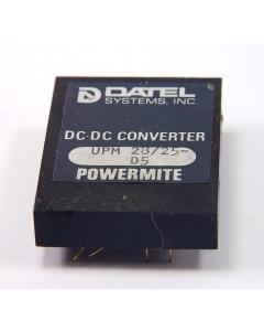 Datel - UPM28/25-D5 - 5V-In 28V@25MA Out CONVERTER MODULE