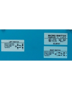 Honeywell/Microswitch - 2CLSB1A1 - Duplex Cable Pull Limit Switch.
