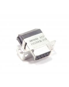 AMPHENOL - FCC17EC9SL-210 - DB9S conn RA w/filter.