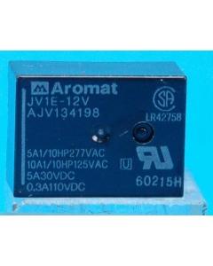 NAIS/Aromat - JV1E-12V - Relay, control. SPDT 10A 12VDC.