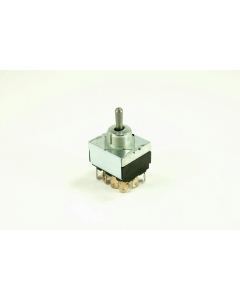 C & K Components - 8946K-1079 - Switch, toggle. 4PDT Center-off.