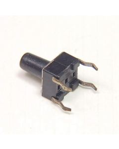 C & K Components - KC11P4CQ - Switch, pushbutton. Contacts: SPST-NO.