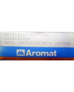 AROMAT - MF18-D10C-DC5-24V - Sensor, photoelectric. Output: PNP 100mA.