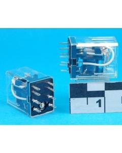 NAIS/Aromat - HC2-H-AC12V - Relay, AC. DPDT 7Amp 12VDC. New.