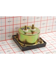 SIMPSON ELECTRIC - 3343-0-30ACA - Meter, analog. Movement: 0-10VAC Scale: 0-30A AC