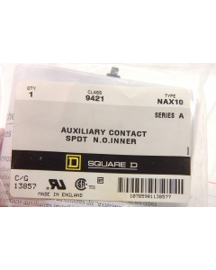 Square D - NAX10 - AUX CONTACTS N.O. Inner SPDT