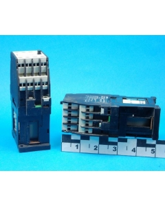 SIEMENS - 3TH4244-0BB4 - 24VDC 4-pole NO and 4-pole NC 16Amp Control Relay