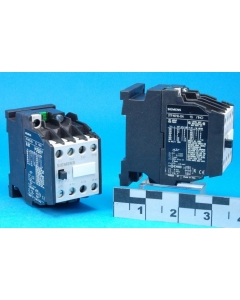 SIEMENS - 3TF4010E-0A1S - Relay contactor. Coil: 24VAC.