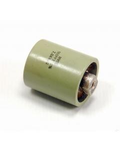 HVCO - 160PF-7.5KVDC - Capacitor, high voltage. 160pF.