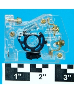 Square D - 9999SX7 - Auxiliary contact 1NC for size 00-7 starter.