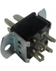 TRW CINCH Jones - P-304-AB - Connector, Cinch. Industrial Plug, Male 4 Pin, AB.