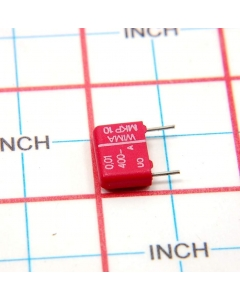 WIMA - MKP10 - MKP1G021002C - Capacitor, MPF. 0.01uF 400V.