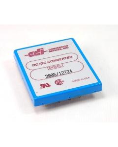 CDI - 3005/12T24 - DC/DC 30W 24V TO 5/+/-12V 3A/+/-625MA