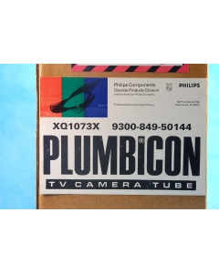 "Philips - XQ1073X - Plumbicon camera tube, 1""."