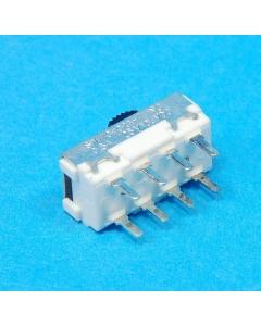 SWITCHCRAFT - 3-778 - Switch, Slide. DPDT, 3 Position.