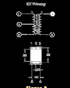 Triad Magnetics - SP62 - Transformer TF5RX17ZZ- AUDIO Output Transformer, Pri. 800 ohms, Sec. 3.2 ohm