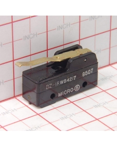 Honeywell/Microswitch - BZ-1RW84217 - Switch, Micro. Contacts: SPDT. 15A, 125/250/480VAC