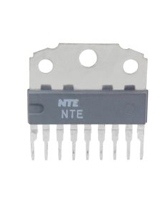 NTE Electronics Inc. - NTE1852 - IC, audio. Amplifier with DC volume control.