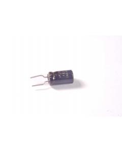 PANASONIC/MATSUSHITA - CAP284 - Electrolytic. 47uF 16VDC. Package of 25.