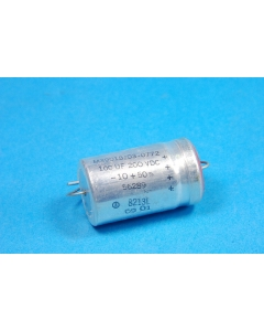 CDE - M39018/03-0772 - Capacitor, electrolytic. 100uF 200VDC.