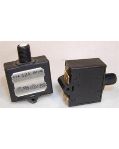 E-T-A - 1658-G21-00-P13 - Circuit breaker. Type 1658, 12Amp 250VAC. Push Button Reset.