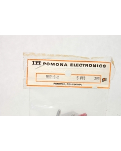 POMONA ELECTRONICS - MDP-S-2 - Shorting bars, dual banana.