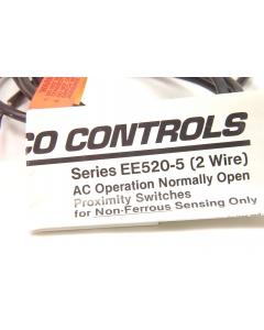 NAMCO CONTROLS - EE520-54910 - Sensor, proximity. NO 120VAC 50/60Hz 60VA.