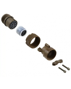 ITT Cannon - MS3106F20-29S - Connector, circular. Type: MS. 17 Pos F, cable.