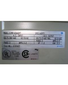 YASKAWA Electric Mfg - 616G3 - VARISPEED 3 PHASE AC DRIVE GPD616G3