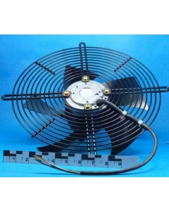"Papst - S2E300-BP02-34 - Fan, skeleton. 230VAC 14.5""D. Capacitor included."