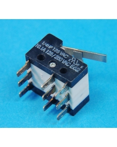 CHERRY ELECTRICAL PRODUCTS - E62-24MA - Switch, micro. 3PDT 10A 125V.