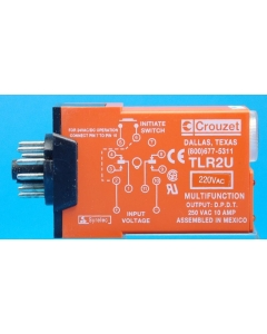 Crouzet Corp - TLR2U220A - 220VAC Multi-Function Timer 0.1Sec-10Hour