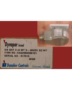 Danaher Controls - HA62509000101 - Encoder 3/8 SHT FLG MT 5-26VDC SD MT