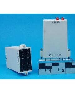 GORDOS/CROUZET - IDC5Q - Relay, DC.  4 Channel  10-32 VDC, 5 VDC Logic I/O Module, Plug-in.