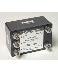 SURGE CONTROL LTD - SPP-2204D - Transient Suppressor & Filter.