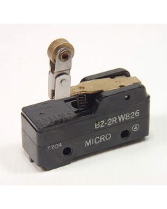 Honeywell/Microswitch - BZ2RW826 - ROLLER uSwitch SPDT-15A SnapActing Lever