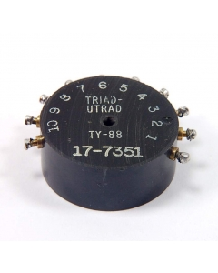 Triad/Utrad - TY-88 - Transformer, Inverter. Toroidal, Out: 250VDC 60mA.