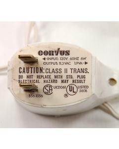 ADAPT/CORVUS - B56-1056 - Transformer. Ac Adapter, 11.3VAC 165ma 1.9VA.