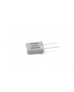 SARONIX - NMP080/8.0MHZ - Crystal. 8.0MHz. Package: HC-18/U.